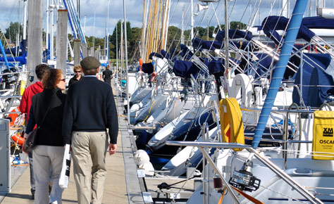 Easter Used Boat Shows at Port Hamble and Port Solent Marinas